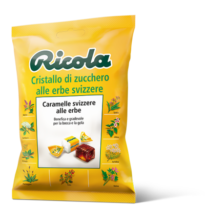 Caramelle Ricola Erbe Balsamiche Sacchetto 70 gr