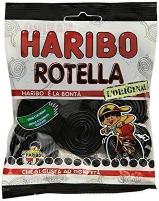 Liquirizia Haribo Rotella 100 gr