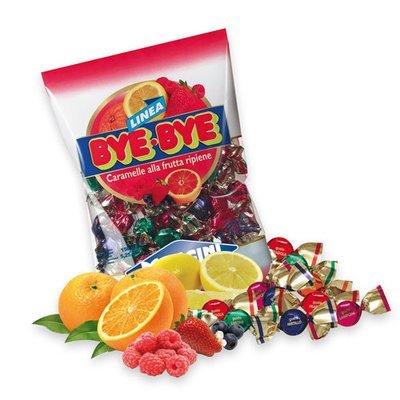 Caramelle Mangini Bye Bye Frutta 150 gr