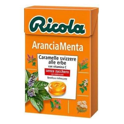 Ricola Arancia Menta Astuccio 50 gr
