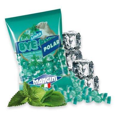 Caramelle Mangini Bye-Bye Polar Menta 150 gr