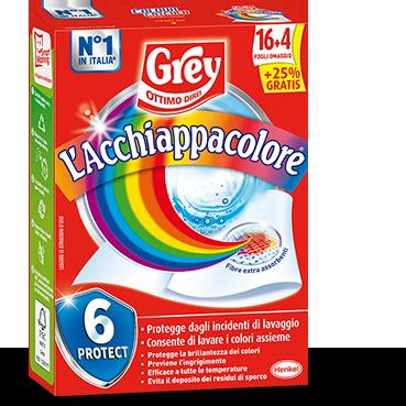 Acchiappa Colore Grey Venti Fogli 20 pz
