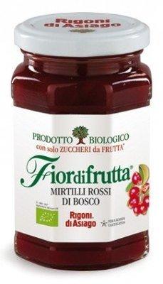 Confettura Fiordifrutta Rigoni Mirtilli Rossi 250 gr