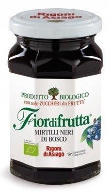Confettura Sure Di Frutta Rigoni Mirtilli Neri 250 gr