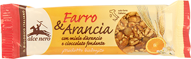 Barretta Farro e Arancia Alce Nero 22 gr