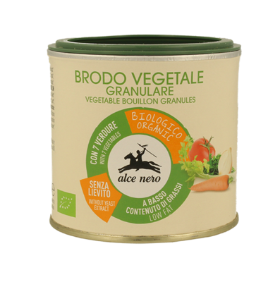 Brodo Vegetale Granulare Alce Nero 120 gr