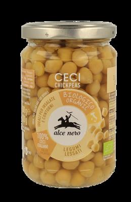 Ceci Lessati Alce Nero 300 gr