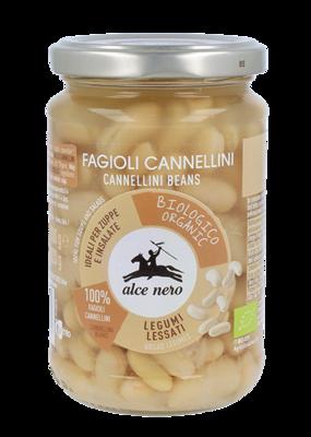 Fagioli Cannellini Lessati Alce Nero 300 gr