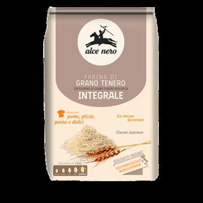 Farina Di Grano Tenero Alce Nero Integrale 1 kg