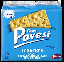Cracker Non Salati Gran Pavesi 500 gr