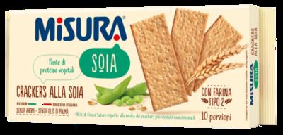 Cracker Alla Soia Misura 400 gr