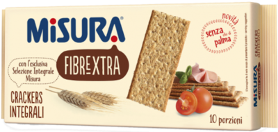 Cracker Integrale Misura 400 gr