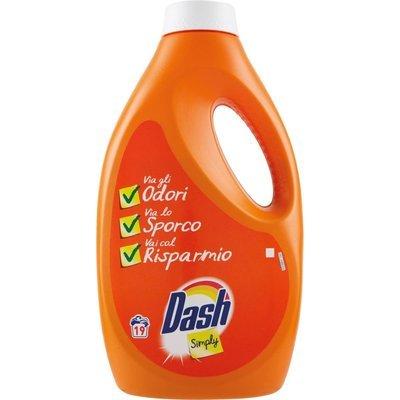 Dash Liquido Simply 19 Lavaggi lt 1.235