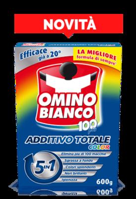 Omino Bianco 100  Più Color Additivo Totale 500 gr