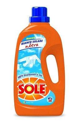 Sole Bianco Solare Liquido 20 Lavaggi 1,3 lt