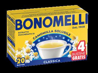 Camomilla Bonomelli Solubile 20+4 filtri