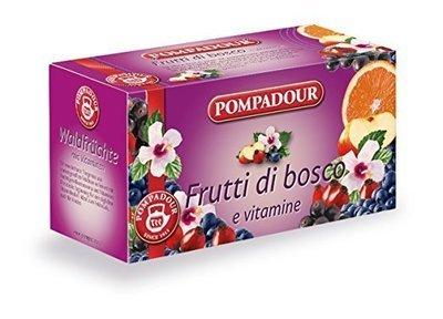 Infuso Pompadour Frutti Di Bosco 20 filtri