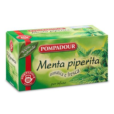 Infuso Pompadour Menta Piperita 20 filtri