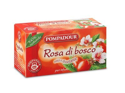Infuso Pompadour Rosa Di Bosco 20 filtri