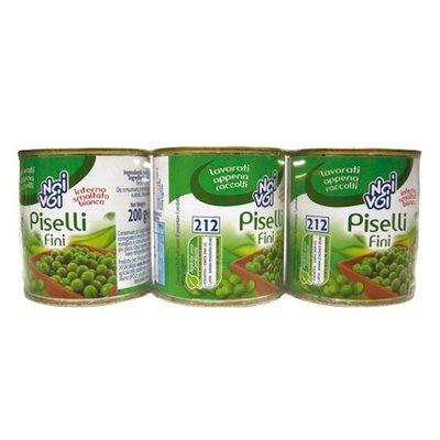 Piselli Fini Noi&Voi Tris 600 gr