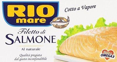 Filetti Di Salmone Rio Mare Al Naturale 150 gr