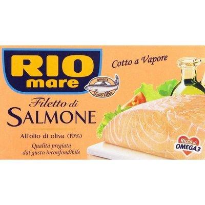 Filetti Di Salmone Rio Mare In Olio Di Oliva 150 gr