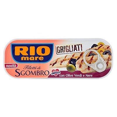 Sgombro Grigliato Rio Mare in Extravergine di Oliva 120 gr