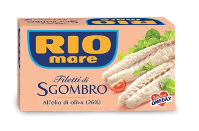 Sgombro Rio Mare In Olio Di Oliva 125 gr