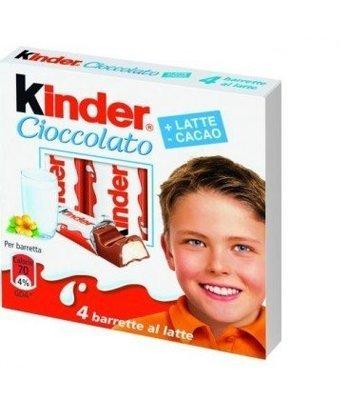 Kinder Cioccolato 4 pz