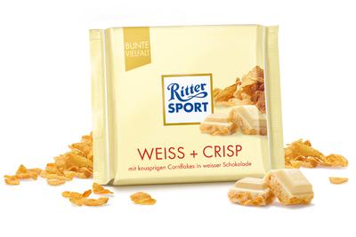 Ritter Sport Cioccolato Bianco e Crisp 100 gr