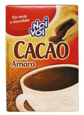 Cacao Amaro Noi&Voi 75 gr