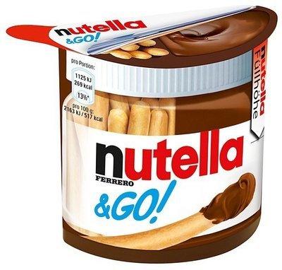 Nutella e Go Con Grissino 52 gr