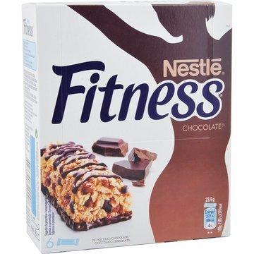 Barrette Fitness Al Cioccolato X 6 141 gr