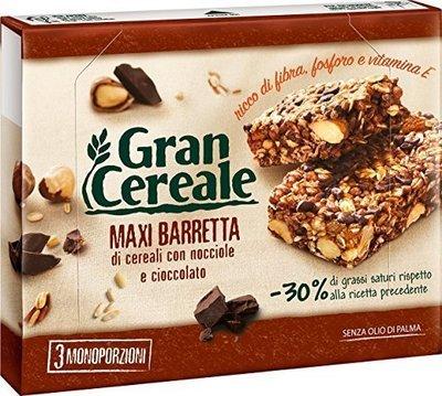 Barrette Gran Cereale Mulino Bianco Nocciole e Cioccolato 135 gr
