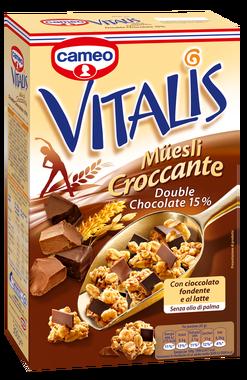 Muesli Croccante Vitalis Cameo Cioccolato 300 gr