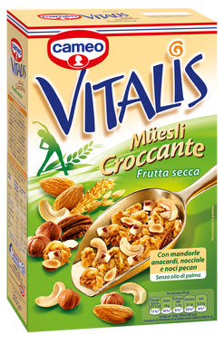 Muesli Croccante Vitalis Cameo Frutta Secca 300 gr