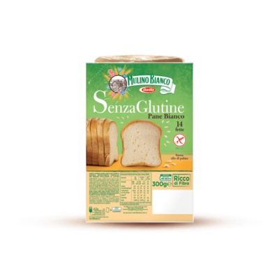 Pane Bianco Senza Glutine Mulino Bianco 300 gr