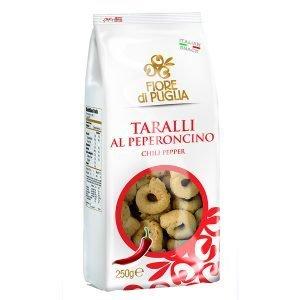 Taralli Al Peperoncino Fiore Di Puglia 250 gr
