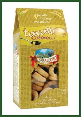 Taralli Caserecci Taralloro 300 gr