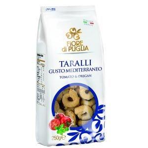 Taralli Mediterraneo Fiore Di Puglia 250 gr