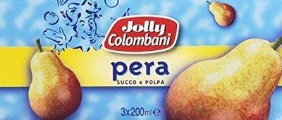 Succo Pera Jolly 200 ml X 3