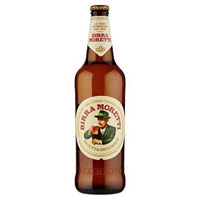 Birra Bottiglia Moretti 660 ml