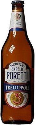 Birra Bottiglia Poretti Tre Luppoli 660 ml