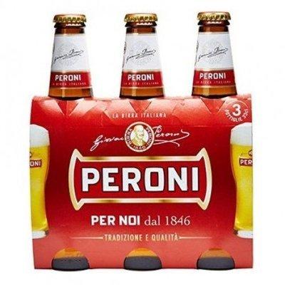 Birra Bottiglia Peroni 330 Ml X 3