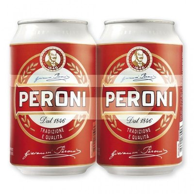 Birra Lattina Peroni 330 Ml X 2