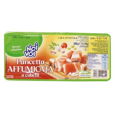 Pancetta Affumicata A Cubetti Noi&Voi 200 gr