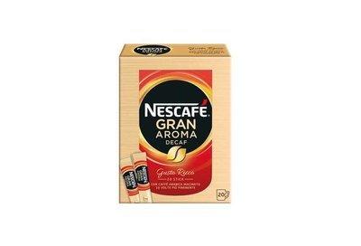 Nescafe Solubile Gran Aroma Decaffeinato 20 Buste 34 gr