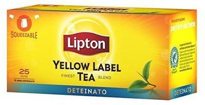 Te Lipton Deteinato 25 filtri