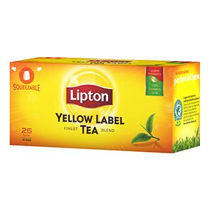 Te Lipton Squeezable 25 filtri