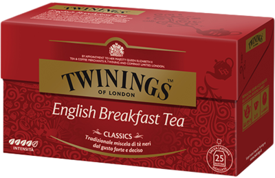 Te Twinings English Breakfast 25 filtri